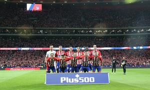 Temp. 17-18 | Atlético de Madrid-Málaga | Once