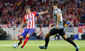 Temp. 17-18 | Atlético de Madrid-Málaga | Gabi