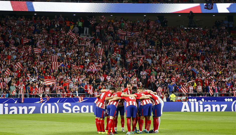 Temp. 17-18   Atlético de Madrid-Málaga   Piña