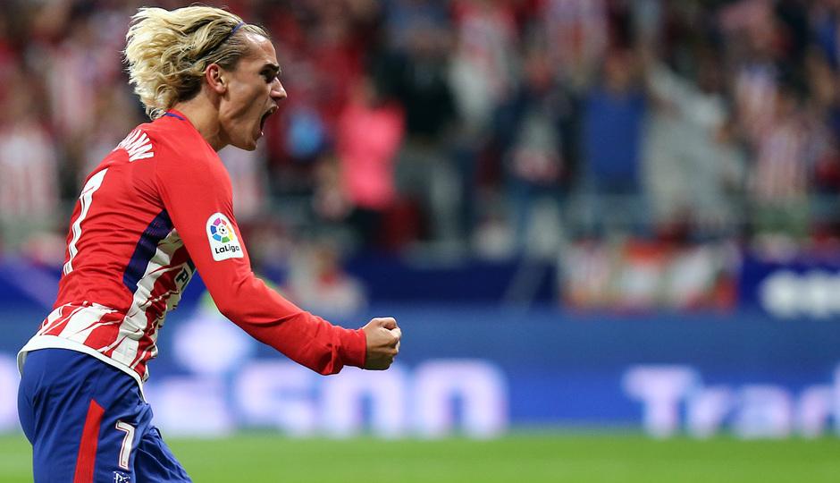 Temporada 2017-18. Primer gol del Wanda Metropolitano. Antoine Griezmann