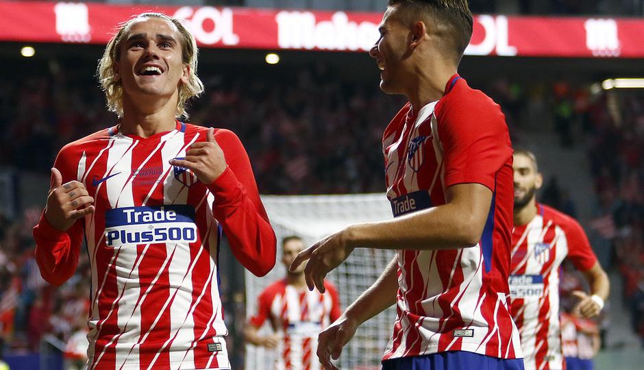 Griezmann anota el primer gol en el Wanda Metropolitano