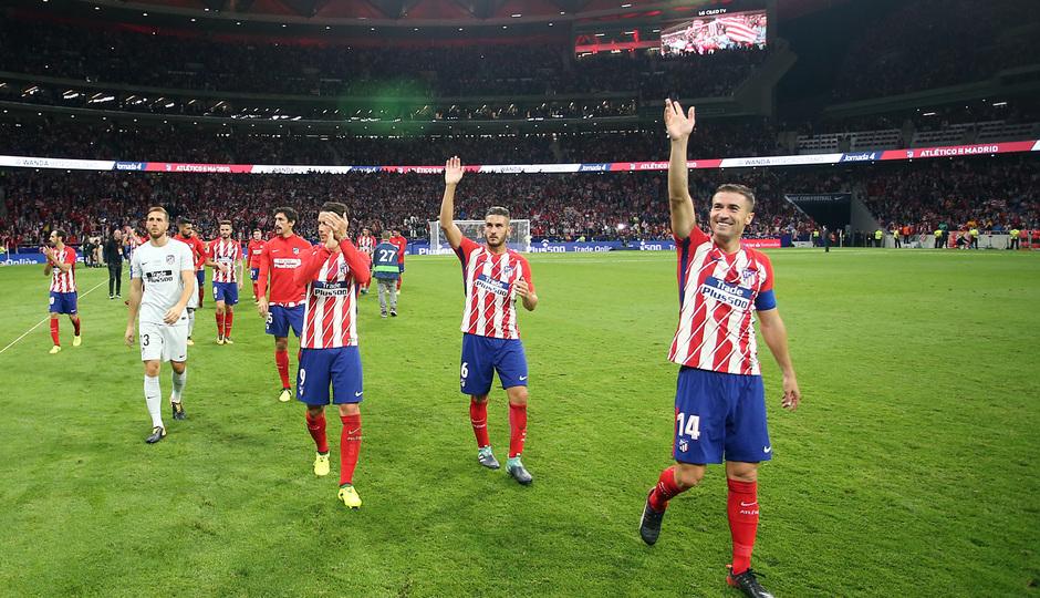 Wanda Metropolitano. 16 de septiembre de 2017.
