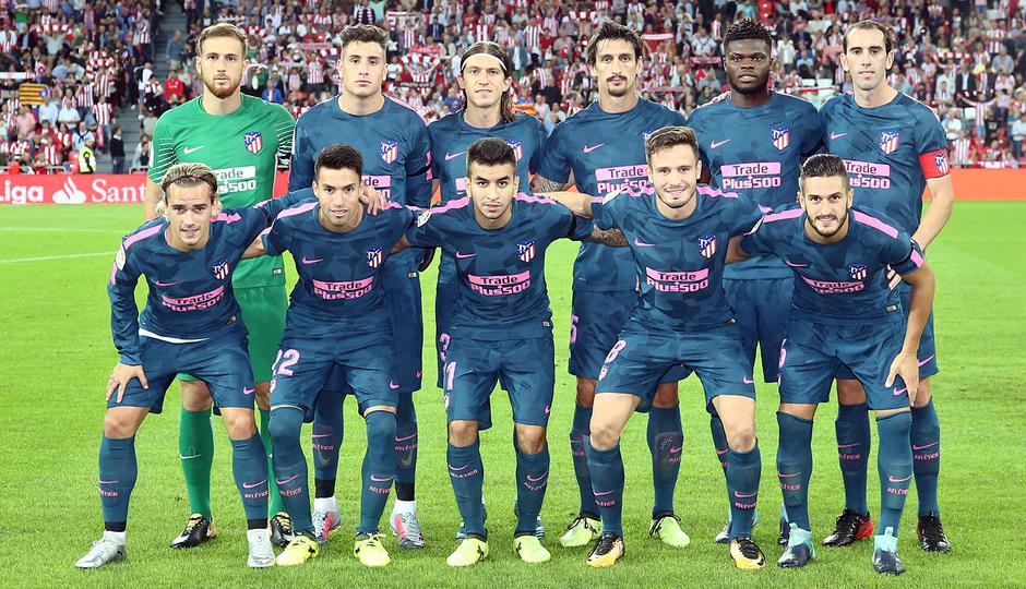 Temp. 17-18   Athletic - Atlético de Madrid   Once