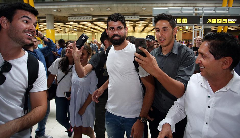 Temporada 2017-18. Llegada Diego Costa Madrid