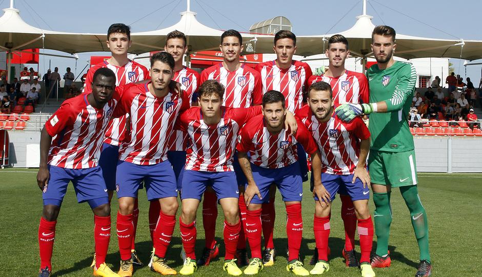Temporada 16/17 | Atlético B - Cerceda | Once titular