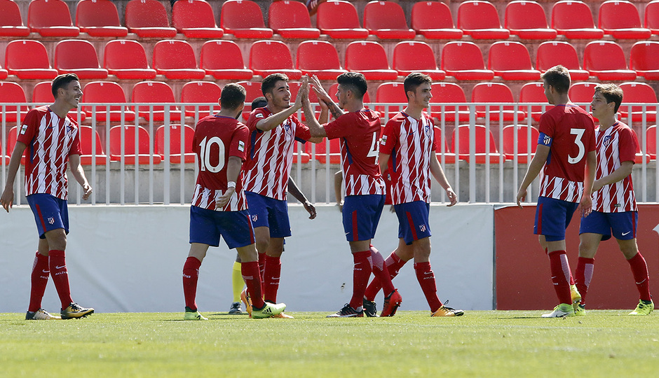 Temporada 16/17 | Atlético B - Cerceda | Toni Moya