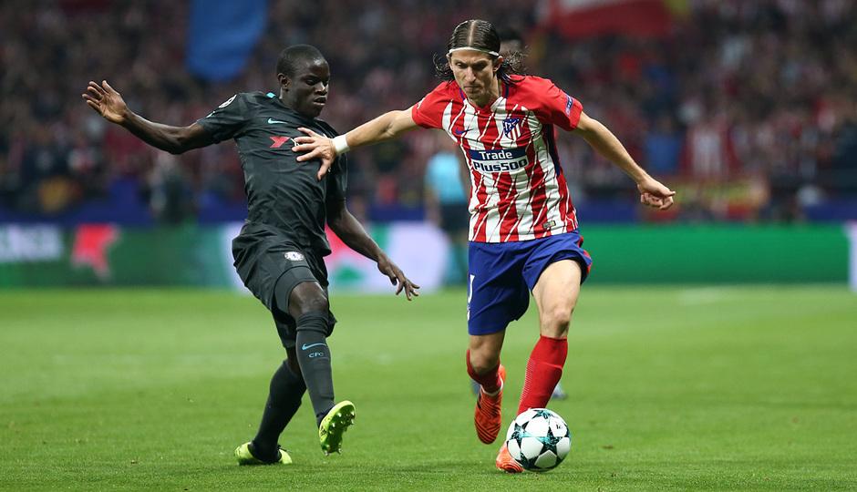 Temp. 17-18 | Atlético de Madrid - Chelsea | Filipe Luis