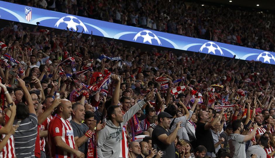 Temp. 17-18 | Atlético de Madrid - Chelsea | Afición