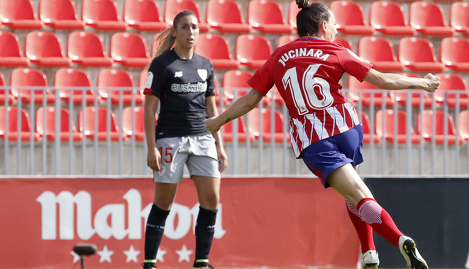 Temp. 17-18 | Atlético de Madrid Femenino - Athletic Club | Jucinara