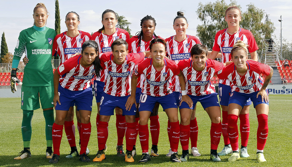 Temp. 17-18 | Atlético de Madrid Femenino - Athletic Club | Once