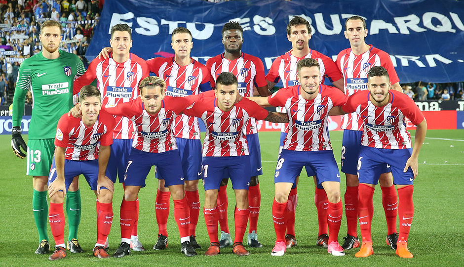 Temp. 17-18 | Leganés - Atlético de Madrid | Once