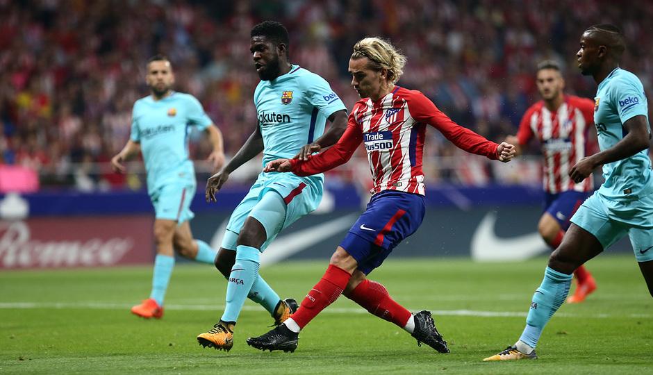 Temp. 17-18 | Atlético de Madrid - FC Barcelona | Griezmann