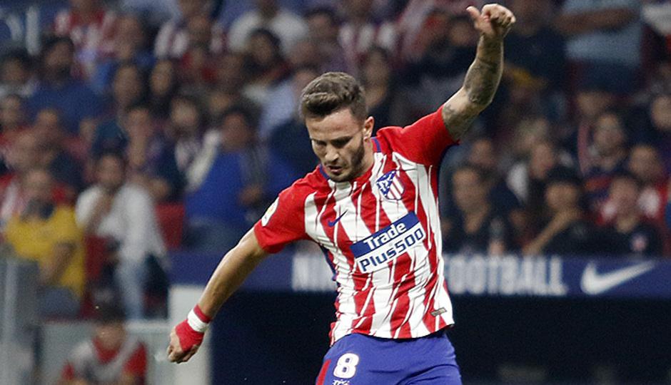 Temp. 17-18 | Atlético de Madrid - FC Barcelona | Saúl