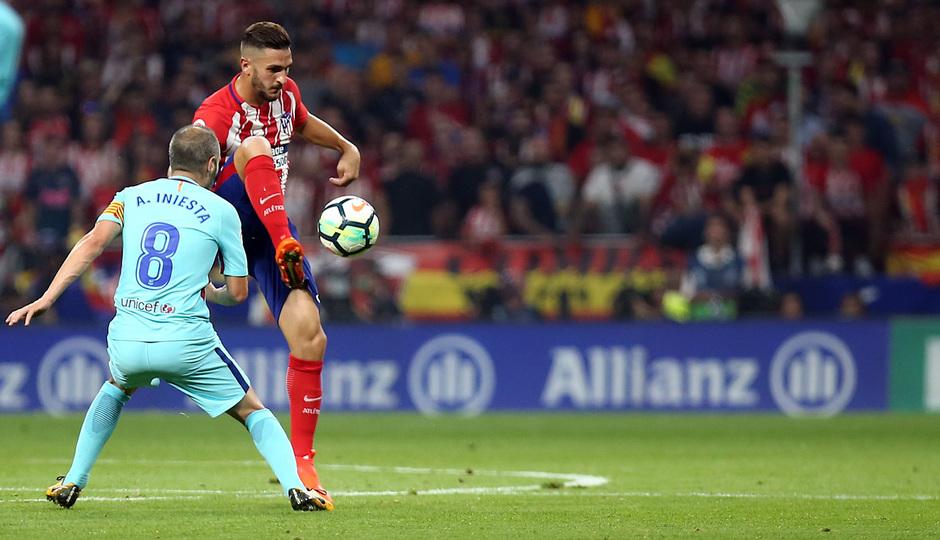 Temp. 17-18 | Atlético de Madrid - FC Barcelona | Koke