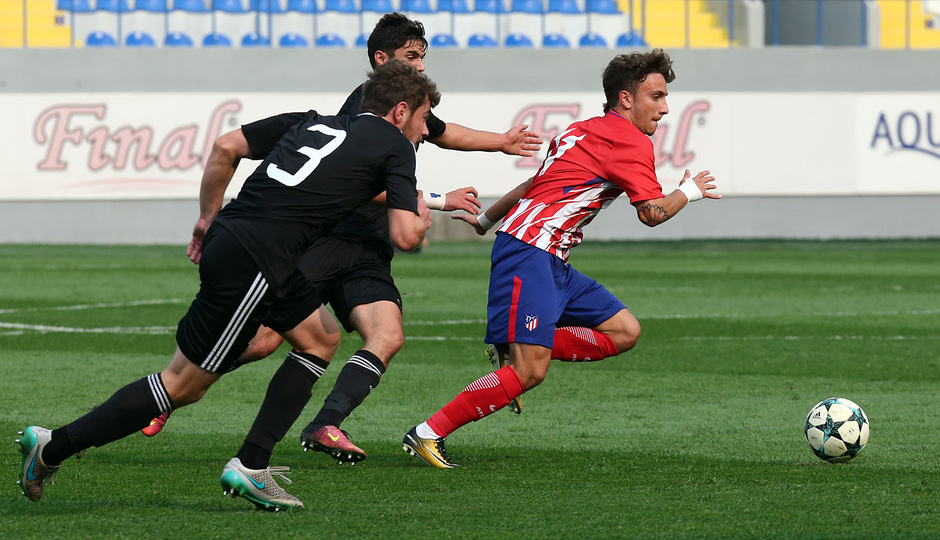 Temp. 17/18 | Youth League | Qarabag - Atlético de Madrid Juvenil A | Clemente