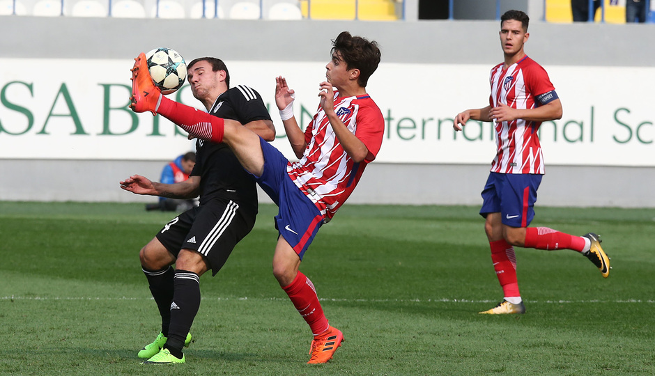 Temp. 17/18 | Youth League | Qarabag - Atlético de Madrid Juvenil A | Ferreras