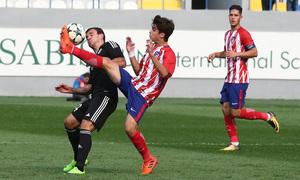 Temp. 17/18   Youth League   Qarabag - Atlético de Madrid Juvenil A   Ferreras