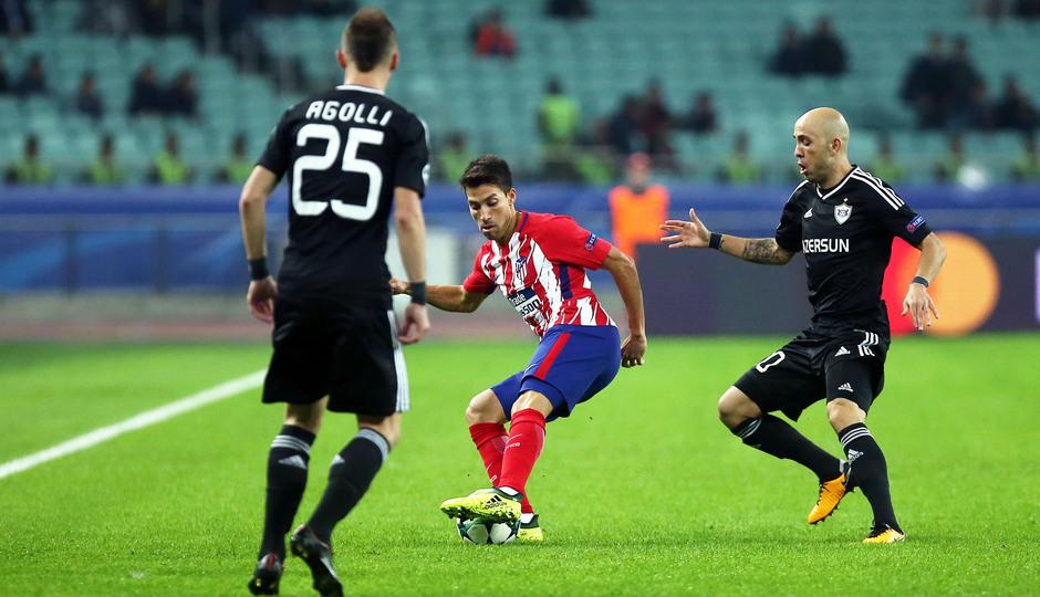 Temp. 17/18 | Qarabag - Atlético de Madrid | Gaitán
