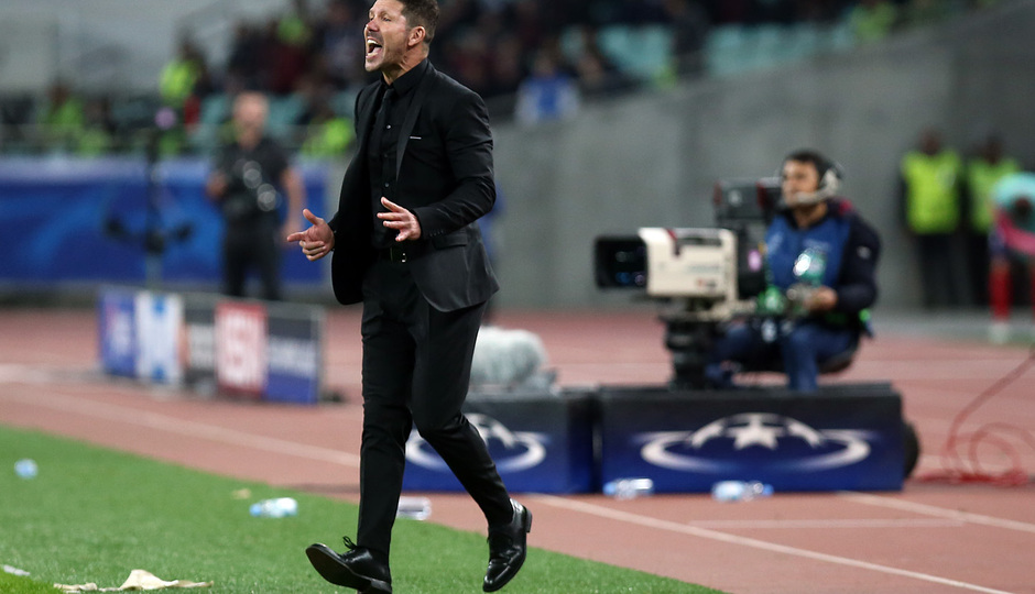 Temp. 17/18 | Qarabag - Atlético de Madrid | Simeone