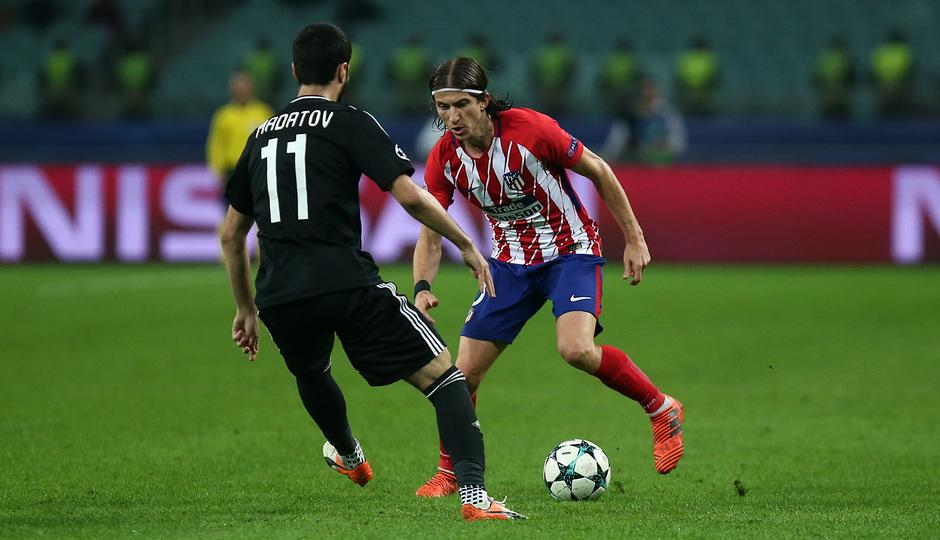 Temp. 17/18 | Qarabag - Atlético de Madrid | Filipe Luis