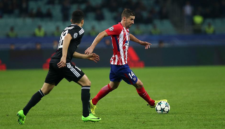 Temp. 17/18 | Qarabag - Atlético de Madrid | Gabi