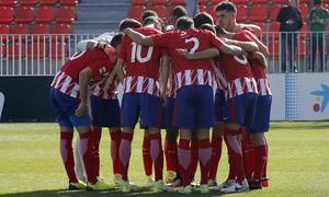 Temp. 17-18 | Atlético de Madrid B - Racing de Ferrol | Piña