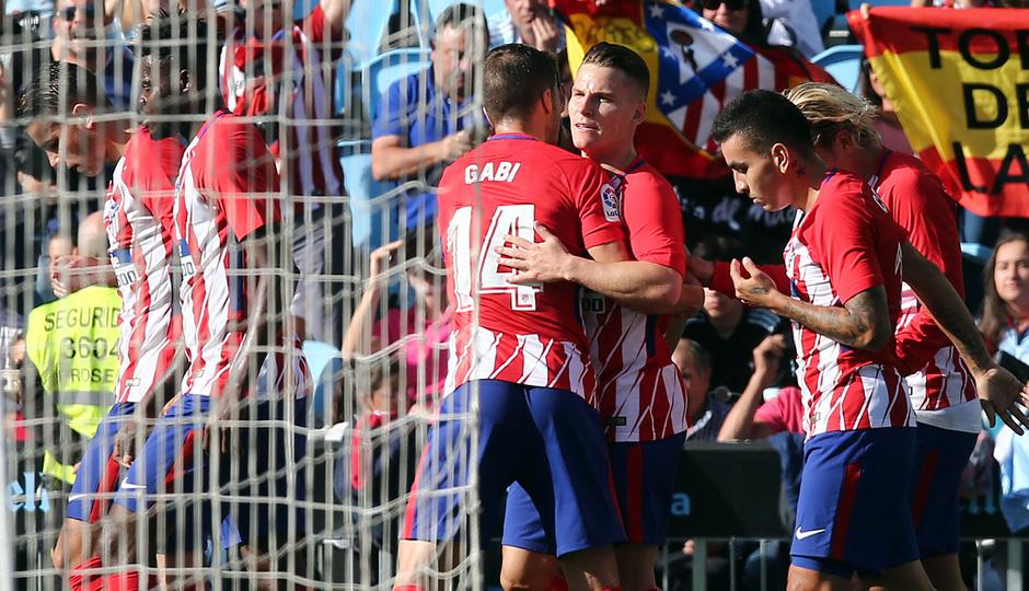Temp. 17-18 | Celta - Atlético de Madrid | Piña