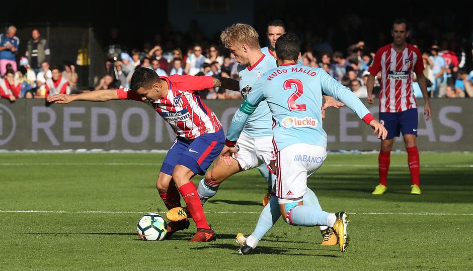 Temp. 17-18 | Celta - Atlético de Madrid | Correa