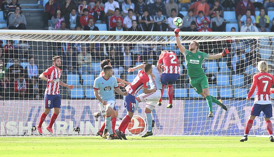 Temp. 17-18 | Celta - Atlético de Madrid | Oblak