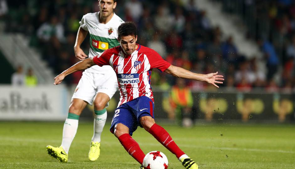 Temp. 17-18 | Elche-Atlético de Madrid | Gaitán