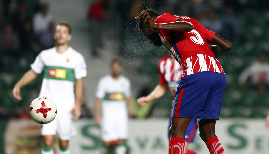 Temp. 17-18 | Elche-Atlético de Madrid | Thomas