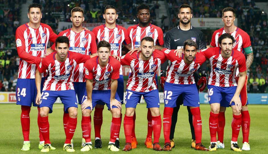 Temp. 17-18 | Elche-Atlético de Madrid | Once