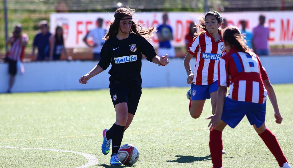 Temporada 2012-2013. Tres equipos representaron al Féminas en el torneo de campeones