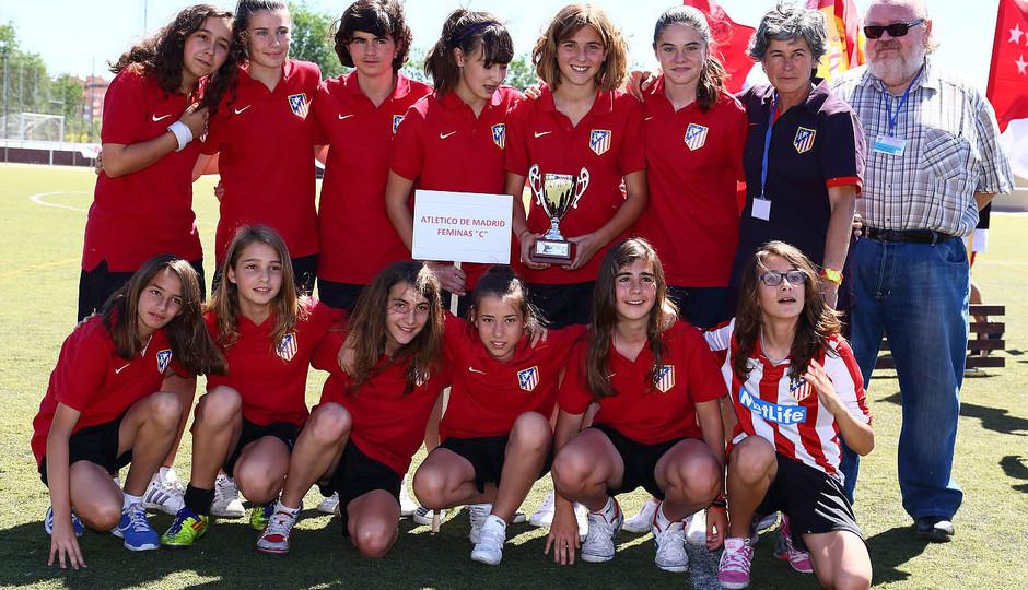 """Temporada 2012-2013. El Sub-13 """"C"""" con la copa"""