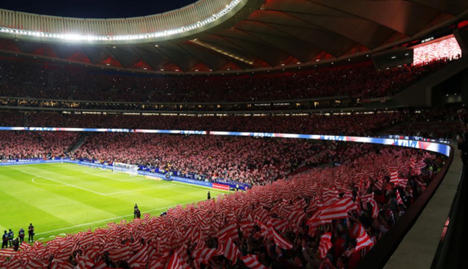 Wanda Metropolitano afición