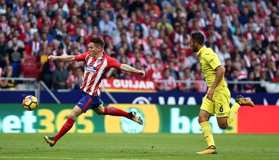 Temp. 17-18 | Atlético de Madrid-Villarreal | Gameiro