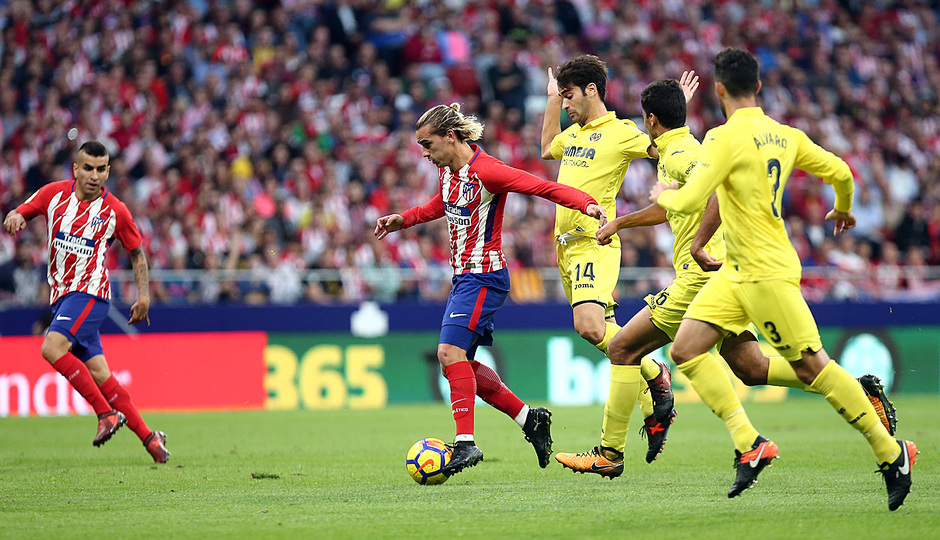 Temp. 17-18 | Atlético de Madrid-Villarreal | Griezmann