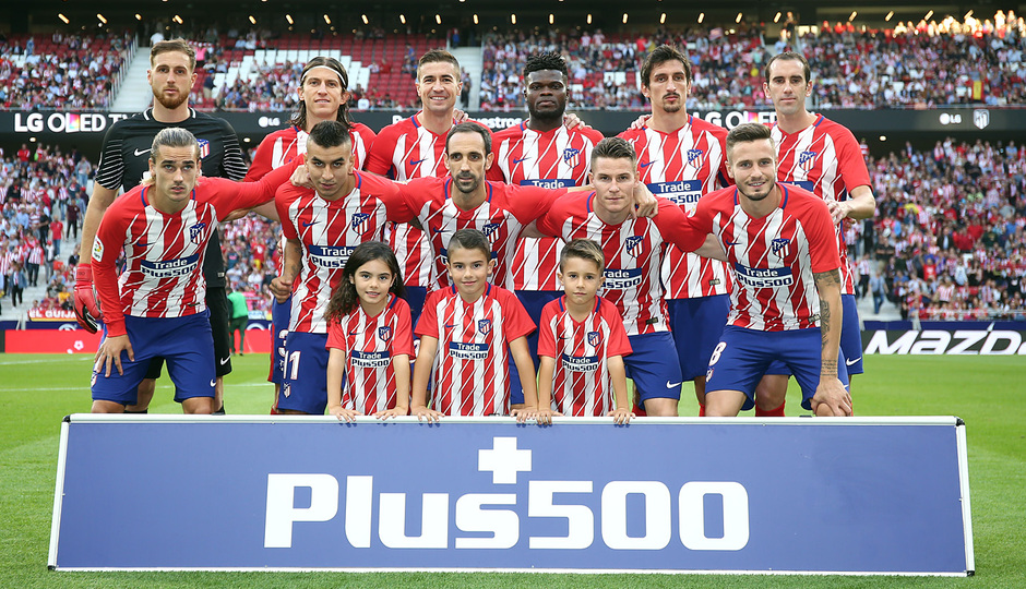 Temp. 17-18 | Atlético de Madrid-Villarreal | Once