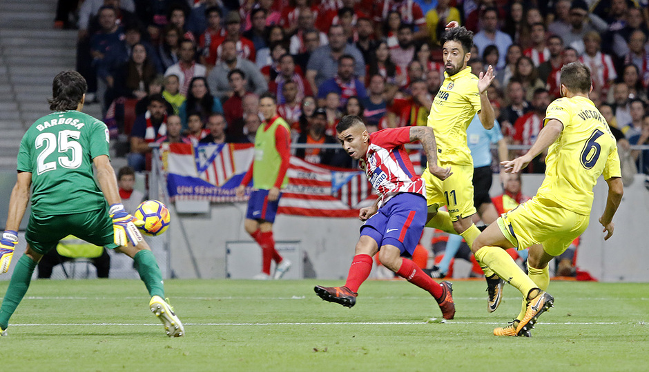 Temp. 17-18 | Atlético de Madrid-Villarreal | Correa gol
