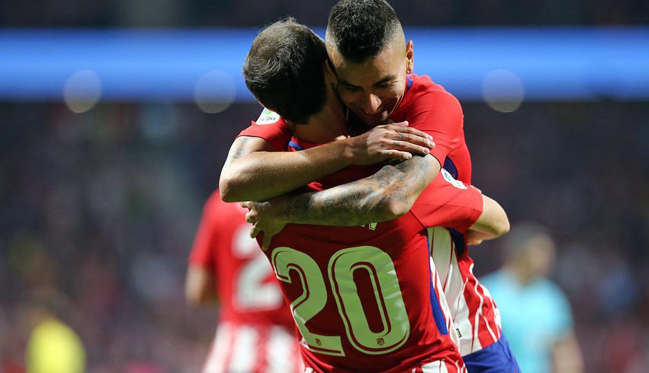 Temp. 17-18 | Atlético de Madrid-Villarreal | Correa celebración 2