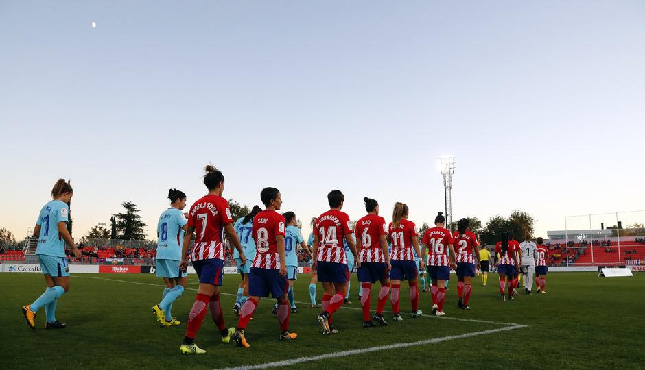 temp. 17-18. Atlético de Madrid Femenino-FC Barcelona. La otra mirada.