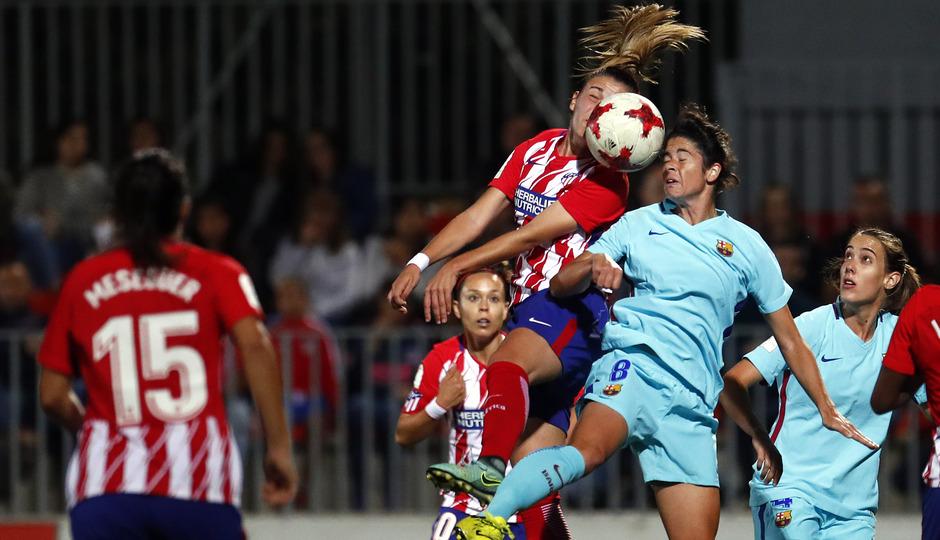 temp. 17-18. Atlético de Madrid Femenino-FC Barcelona. La otra mirada. Menayo