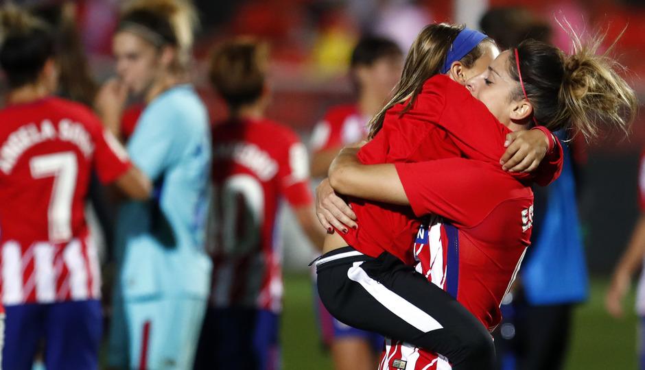 temp. 17-18. Atlético de Madrid Femenino-FC Barcelona. La otra mirada. Esther