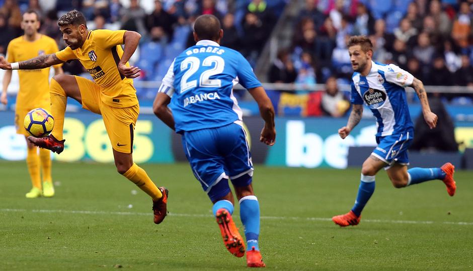 Temp. 17-18 | Deportivo - Atlético de Madrid | Augusto