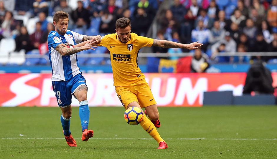 Temp. 17-18 | Deportivo - Atlético de Madrid | Saúl