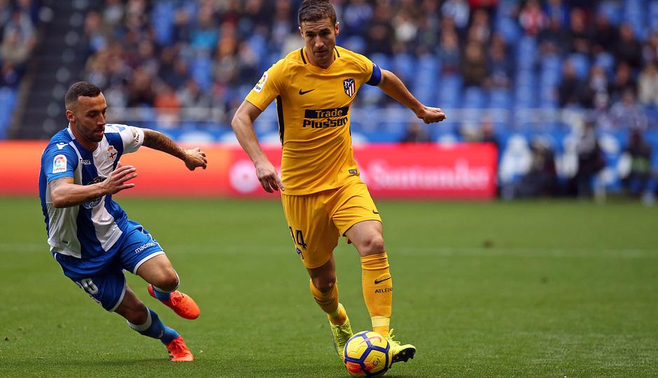 Temp. 17-18 | Deportivo - Atlético de Madrid | Gabi