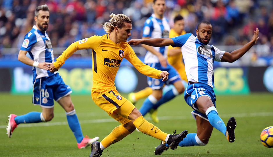 Temp. 17-18 | Deportivo - Atlético de Madrid | Griezmann