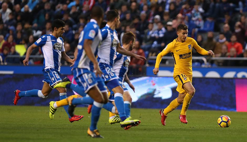 Temp. 17-18 | Deportivo - Atlético de Madrid | Lucas
