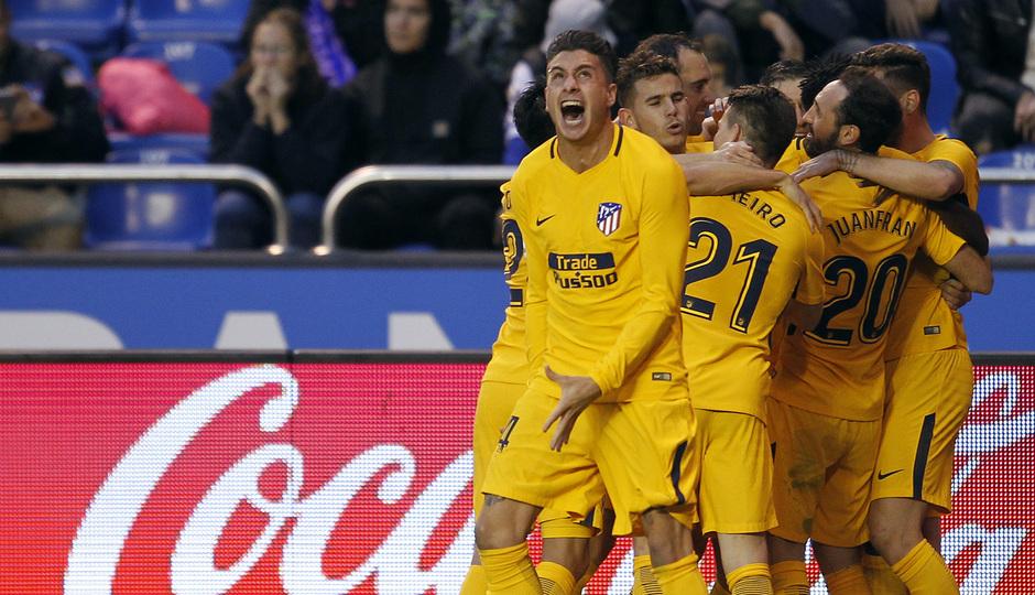 Temp. 17-18 | Deportivo - Atlético de Madrid | Celebración
