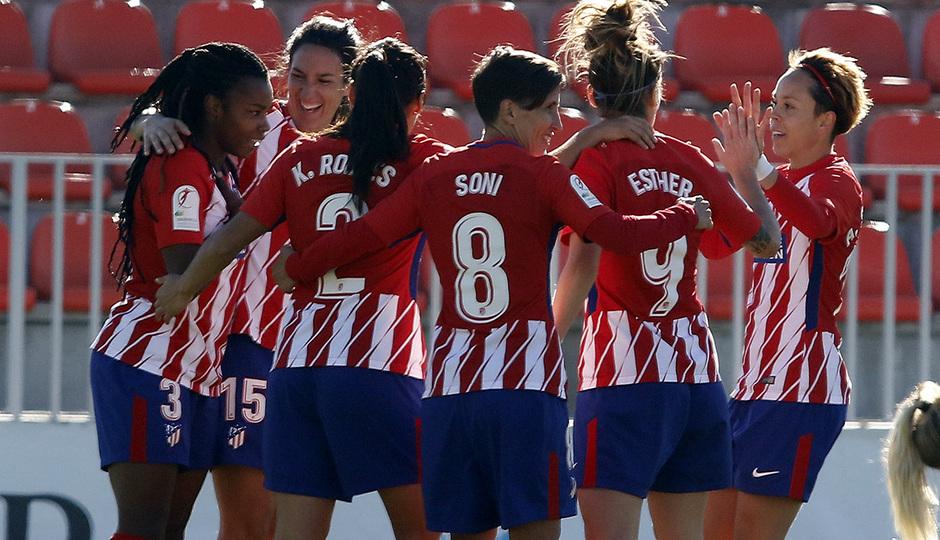 Atlético de Madrid Femenino - Granadilla